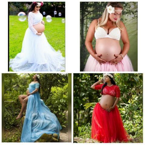 Aluguel roupas para grávidas - Foto 3