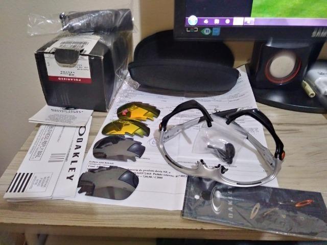 9884b54261b27 Oculos Oakley Racing Jacket Iridium - Bijouterias, relógios e ...