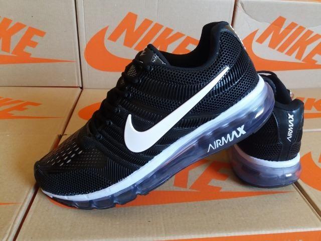 2f7e7afedaf2c Tênis Nike Air - Preto - Entrega Grátis - Roupas e calçados - Jardim ...