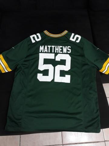 Camisa futebol americano NFL Green Bay Packers - Roupas e calçados ... 1c41d59ce17e3