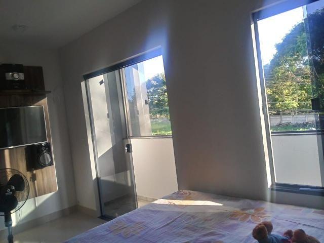 Apartamento de 2 qts, porcelanato, 1 andar em frente a pista no Setor de Mansões de Sobr - Foto 9