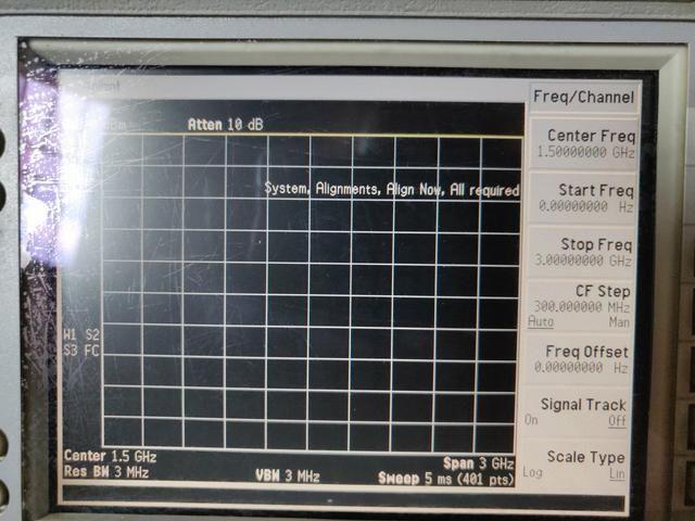 Analisador De Espectro KEYSIGHT AGILENT 9 Khz To 3 Ghz