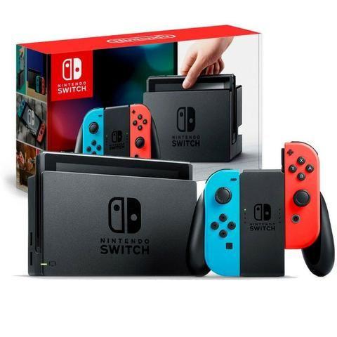 Nintendo Switch - Novo lacrado na caixa com garantia