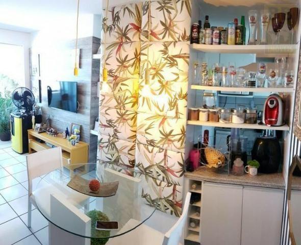 Vendo apartamento no Condomínio Lual de Ponta Negra 56m² 2/4 sendo uma suite, andar alto - Foto 9