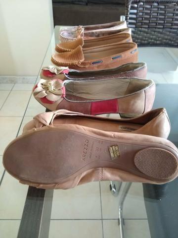 0354c95e5 Sapatos novos e seminovos n. 33 e 34 - Roupas e calçados - Pedreira ...