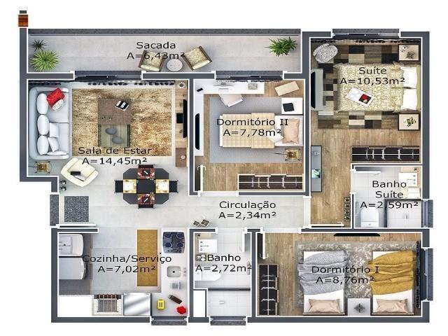 Apartamento residencial à venda, canudos, novo hamburgo - ap0070. - Foto 13