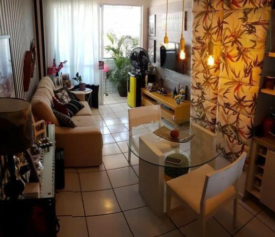 Vendo apartamento no Condomínio Lual de Ponta Negra 56m² 2/4 sendo uma suite, andar alto - Foto 11