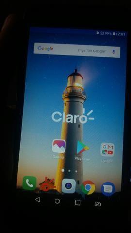LG K4 Titanium Modelo Novo Dual  Telão HD 5 Pol LINDÍSSIMO