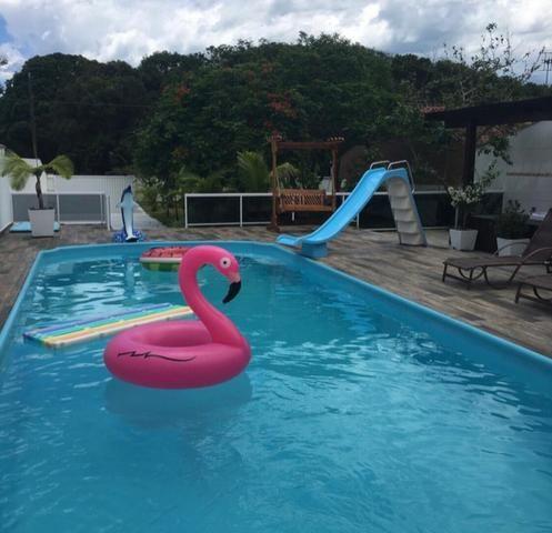 Aluga-se linda casa de praia com piscina en Itapoa ; barra do saí por temporada - Foto 3