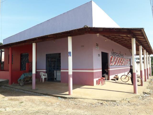 Vendo mercado e casa em São João da baliza - Foto 3