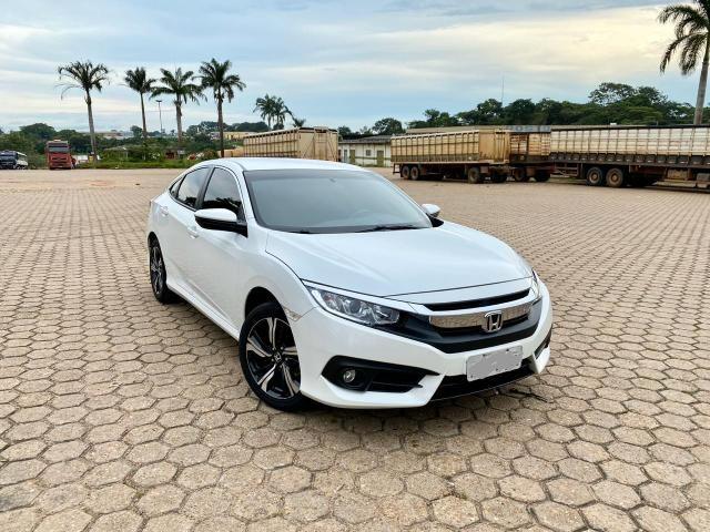 Civic 2017 EXL Branco perolizado 20 mil km - Foto 9
