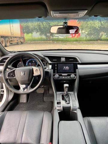 Civic 2017 EXL Branco perolizado 20 mil km - Foto 6