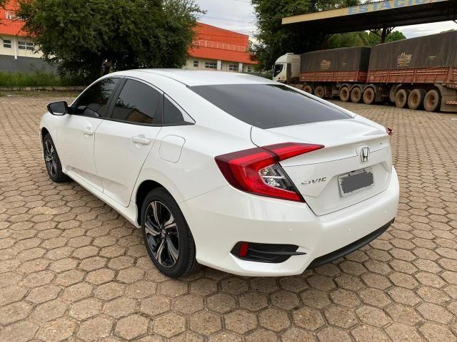 Civic 2017 EXL Branco perolizado 20 mil km - Foto 7