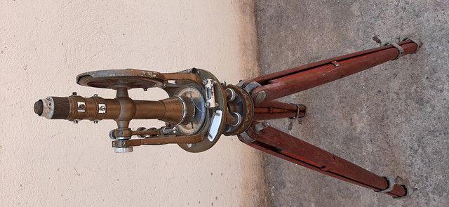 Máquina de topografia Antiga - Foto 4