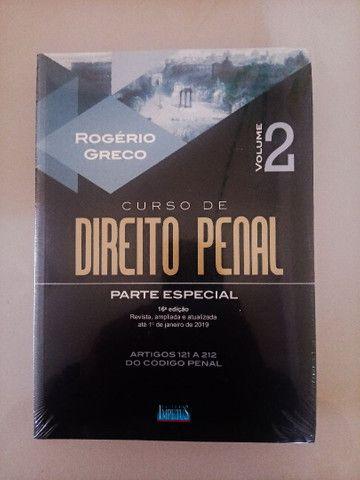 03 volumes do Curso de Direito Penal - Rogério Greco - Foto 3