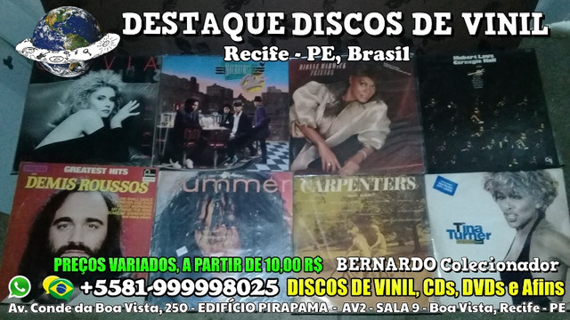Destaque Discos de Vinil, CDs e DVDs - Boa Vista, Recife PE - Foto 5