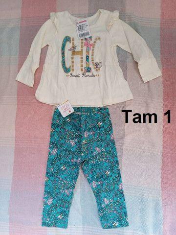 Lote de roupas infantis Novas Brandili ou unidade - Foto 5