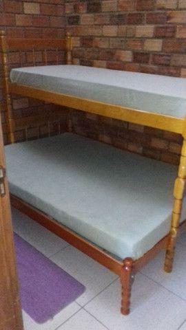 Aluga-se casa para veraneio em Arambaré 01 quadra da praia - Foto 5