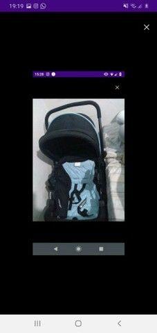 Bebê conforto e Carrinho usado 3x  - Foto 2