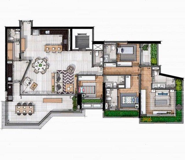 Elaboração de projetos desenhos plantas para construção e geral - Foto 3