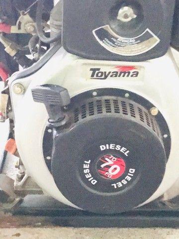 Gerador a diesel TOYAMA 3,8kva - Foto 2
