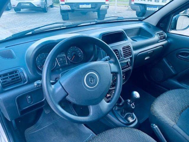 RENAULT CLIO EXPRESSION 1.0 16V HI-FLEX 4P - Foto 8
