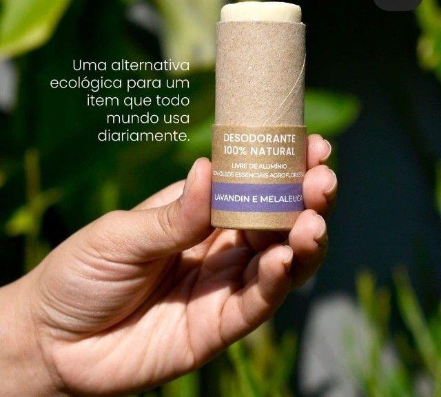 Desodorante 100% Natural Ecológico e Vegano Unissex - Foto 3