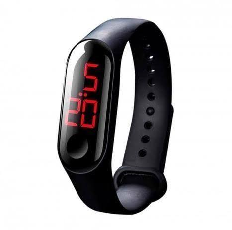 Relógio pulseira digital led (entrego ) - Foto 4
