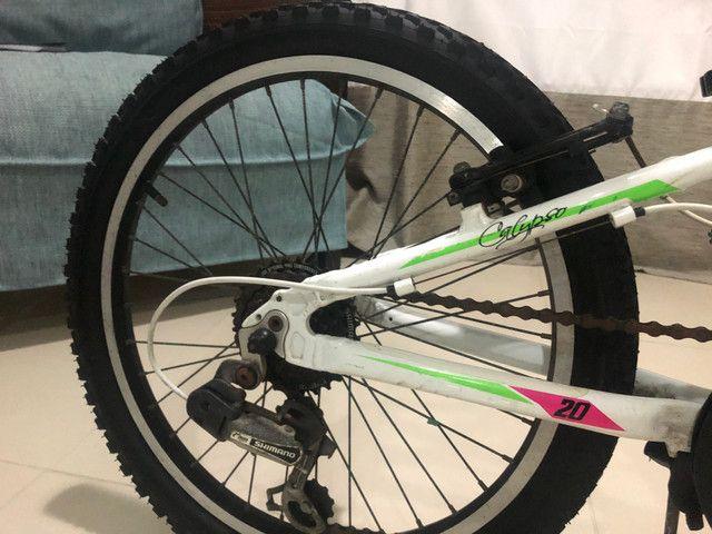 Bicicleta Top mountain Bike para meninas aro 20