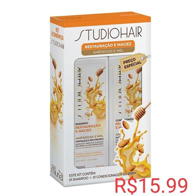 Promoção kit shampoo e condicionador R$ 10 - Foto 4