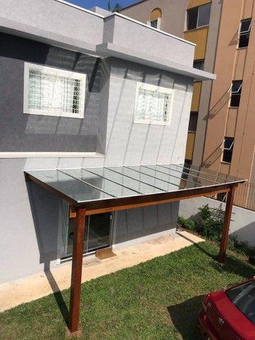Pergolado com Cobertura em vidros  - Foto 6