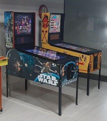 pinball Virtual em tamanho real de uma máquina mecânica mesas taito,Stern,bally,Sega - Foto 3