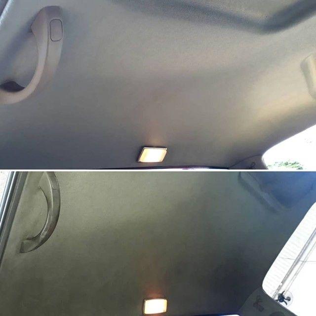 limpeza de teto automotivo