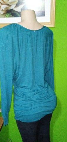 Blusa em Malha  - Tam. M - Foto 2
