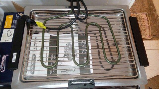 Vendo churrasqueira elétrica nova 127v com garantia