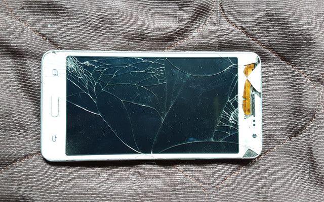 Samsung Grand Prime Duos com TV com defeito