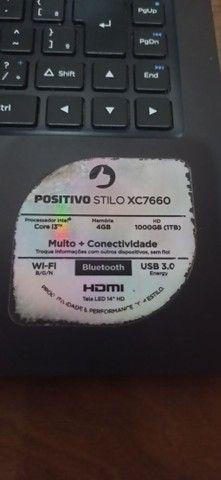 Notebook Positivo stilo XC7660  - Foto 3