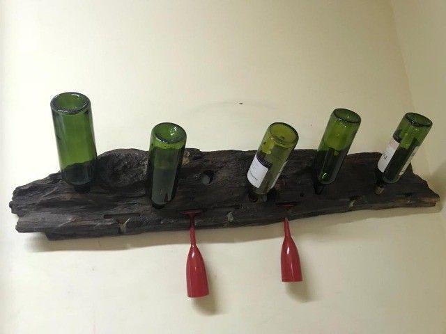 Garrafeiros, suportes para garrafa e taças - Foto 2