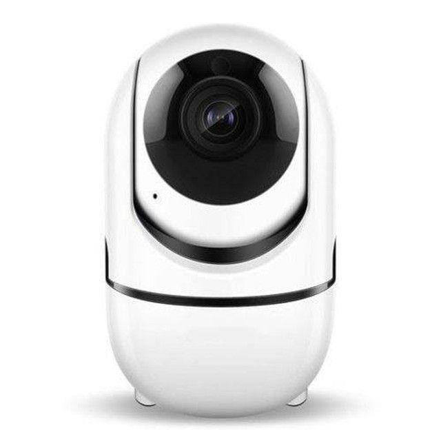Câmera Ip Wifi Varredura Automática HD 960p Com Áudio Entrada Cartão               - Foto 2