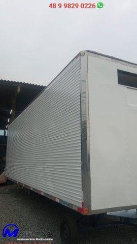 carroceria frigorifica truck caminhão trucado niju 14 paletes