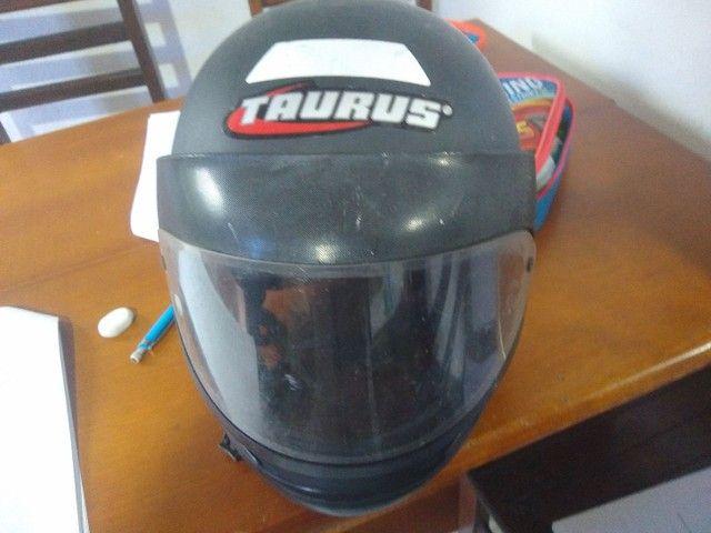 Capacete e cadeira e bike 1800 capacete moto 100 cadeira 150 - Foto 6