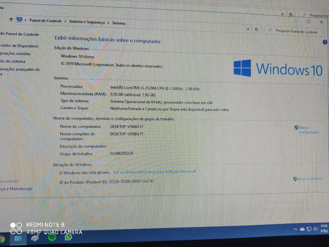 Vende-se computador top contendo 1 tera de HD