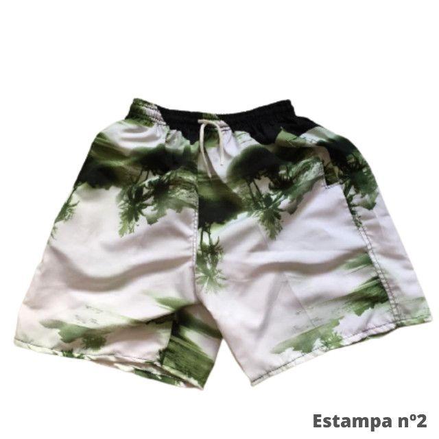 Kit 3 Shorts Masculino Mauricinho Verão Revenda - Foto 2