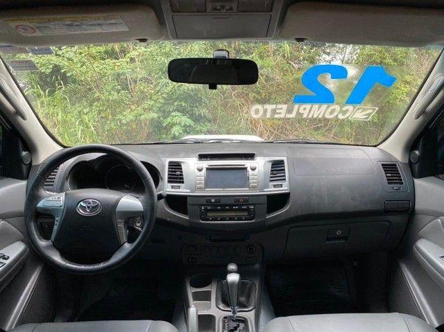 Toyota - Hilux CD srv 3.0 4x4 2012 - Foto 4