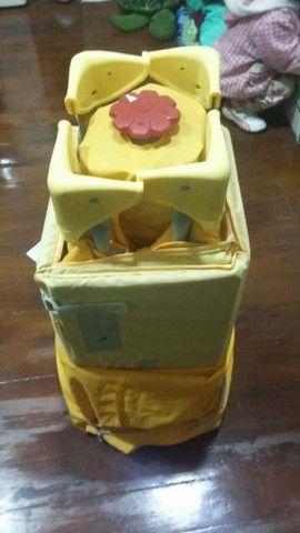 Berço Portátil Easy Sleep Amarelo Chicco - Foto 5