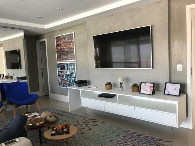 Apartamento No Horto De 128m2| 3 Suítes - Varanda Gourmet | Alto Padrão