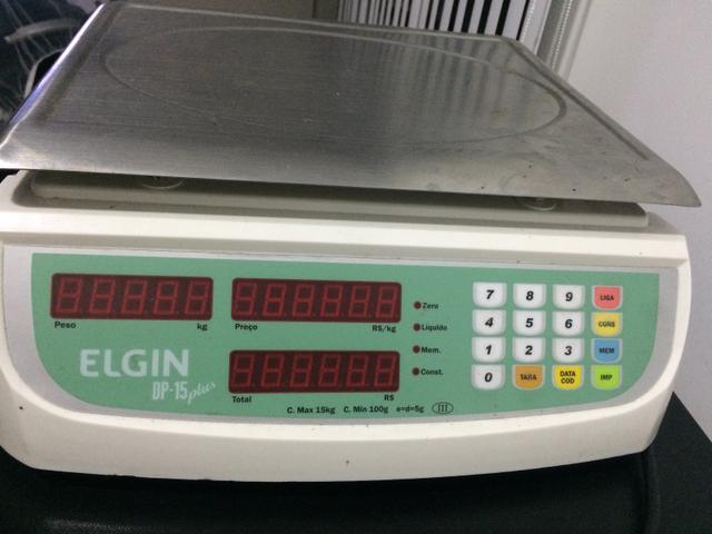 Balança Elgin DP 15 Plus