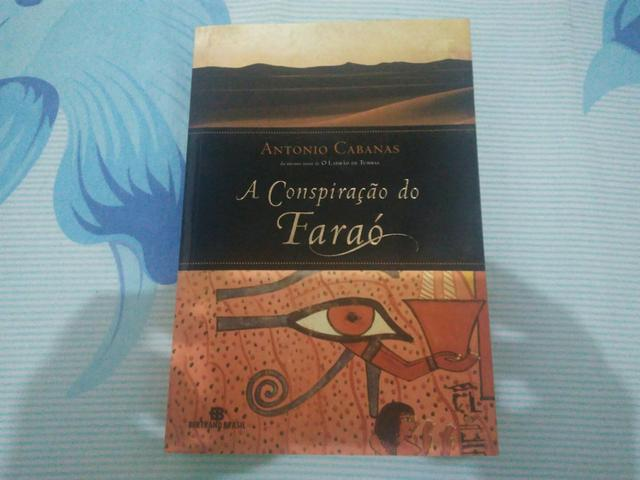 Livro A conspiração do faraó