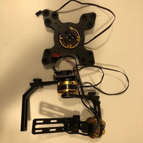 Gimbal 3 Eixos Para Câmera Dslr Drone