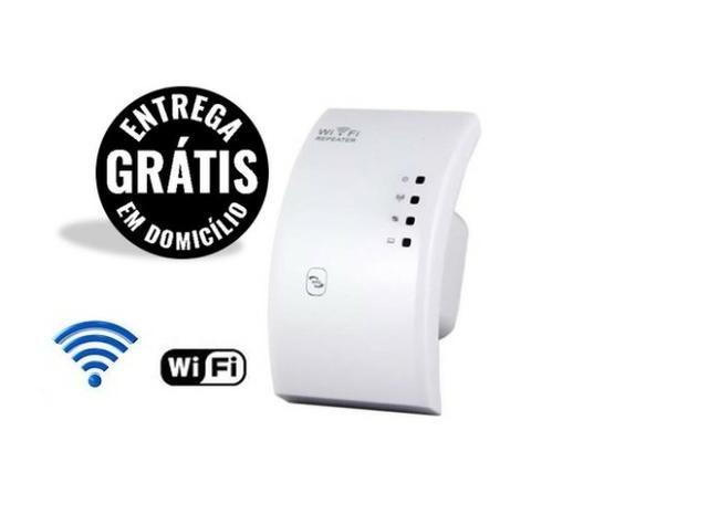 Repetidor Roteador com amplificador de sinal wifi wireless - Novo - Entrega grátis